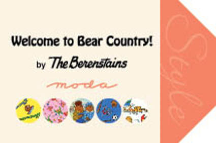 Welcome to Bear Country by Berenstain Bears for Moda Fabrics