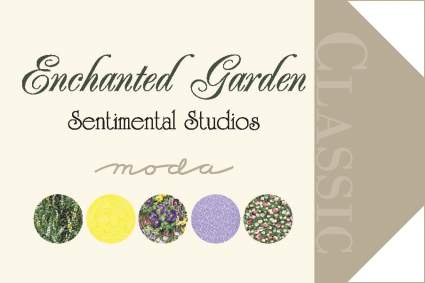 Enchanted Garden by Sentimental Studios for Moda Fabrics