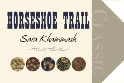 Horseshoe Trail by Sara Khammash for Moda Fabrics