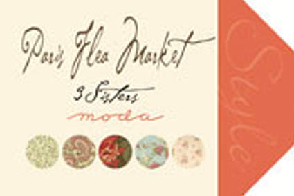 Paris Flea Market by 3 Sisters for Moda Fabrics